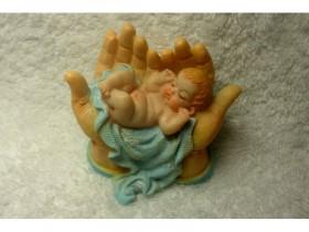 "Форма ""Руки дающие малыша"" 40 гр"
