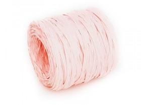Рафия бледно-розовая 1 метр