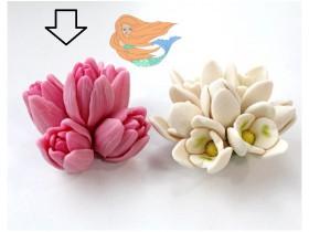 Шапка тюльпанов