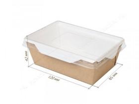 Коробка с прозрачной крышкой 8,5*12 см