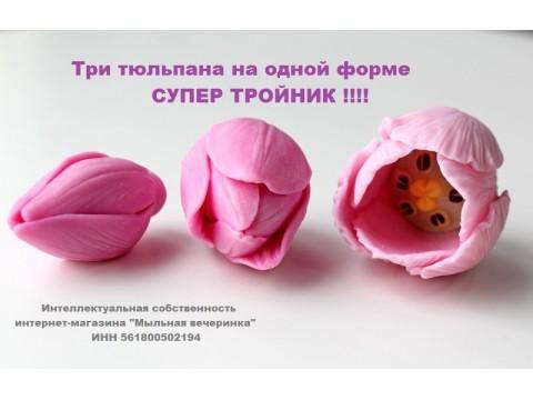 """Форма """"Тюльпан Фаворит"""" плотно закрытый"""