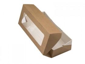 Коробки с прозрачной крышкой и окошком на два мыла 20*12*4 см