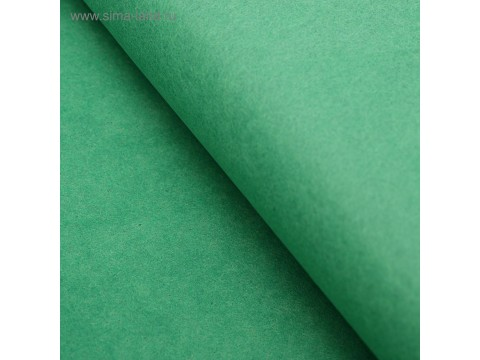 Бумага тишью, цвет зеленый