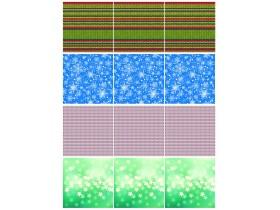 Подложка квадратная 6,5см (2) зима