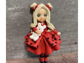 """Форма """"Куколка Кристина в красном платье"""""""