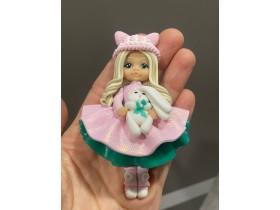 "Форма ""Куколка Ксюша в розовом платье"""