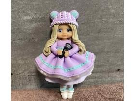 """Форма """"Куколка Даша в фиолетовом платье"""""""