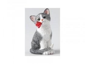 "Форма ""Котёнок с розочкой"" 40 гр"