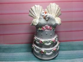 """Форма """"Свадебный торт"""" 160 гр"""