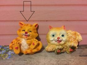 """Форма """"Котёнок магнит"""""""