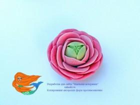 """Форма """"Роза кустовая с маковкой!"""