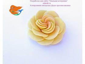 """Форма """"Роза с вертушками"""""""