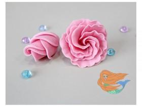 """Форма """"Бутон жемчужной розы"""" -5 см"""
