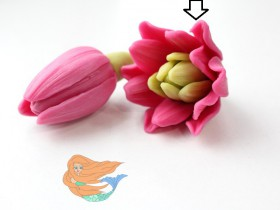 """Форма """"Тюльпан садовый"""" 25-30 гр"""