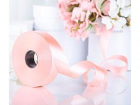 Лента нежно розовая - 1 метр
