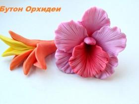 """Форма """"Бутон орхидеи"""""""