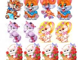 Картинки Котята (дизайн)