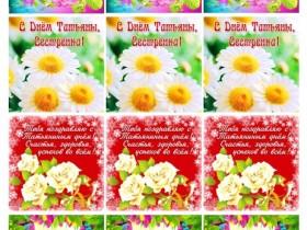 Картинки Татьянин День № 1 (дизайн)