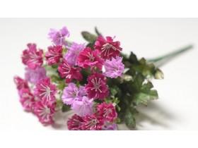 Букет мелкоцвета розовый