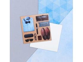 Мини–открытка «Всего, что радует сердце», 7 х 7 см