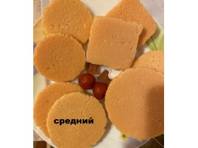 """Форма """"Бисквит Средний"""" КРУГ 8 СМ"""
