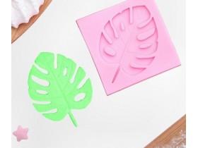 Молд силиконовый «Лист. Тропики», 6,5×6,5 см