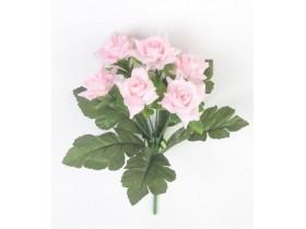 """Букет роз """"Маршмэллоу"""" сиреневый оттенок"""