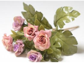 """Букет роз """"Конфетюр"""" розовый"""