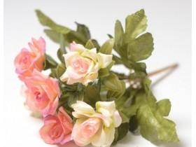 """Букет роз """"Конфетюр"""" персиковый"""