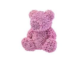 """Силиконовая форма для мыла """"Мишка из роз"""""""