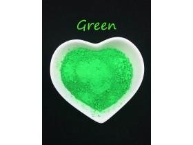 Зелёный неоновый пигмент (сухой) 5 грамм